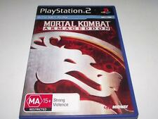 Mortal Kombat Armageddon PS2 PAL Preloved *Complete*