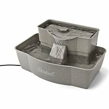 NEW Automatic Feeders PetSafe Drinkwell Multi-Tier Pet Fountain