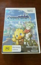 Final Fantasy Fables Chocobo's Dungeon Nintendo Wii Aussie pal