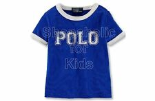 SFK Ralph Lauren Baby Boys' Cotton Tee College Royal shirt RL tshirt