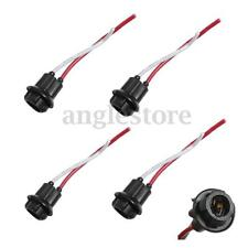 5x T10 168 194 2825 927 928 W5W Light Bulb Wire Wiring Harness Wedge Sockets US