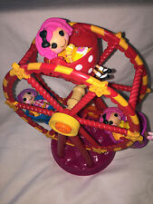 Lalaloopsy Mini Ferris Wheel With 3 Dolls