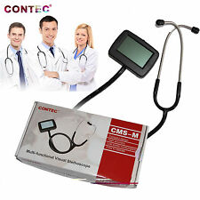 CONTEC CMS-M Visual Electronic stethoscope SpO2 probe ECG+SPO2+PR+HR,CE approved