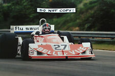 9x6 Photograph, Patrick Neve , Frank Williams-March 761 Belgian GP Zolder 1977