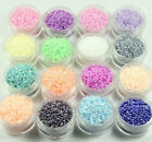 HOT DIY Jewelry 1000pcs 2mm Lot Czech glass seed beads! Choose color