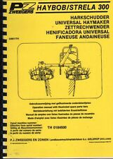 PZ HAYBOB Operation Manual & Illustrated Parts List Book