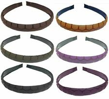 Wholesale Lot of 12  Headbands in Earth Tone Colors #86103-D
