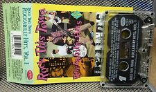 ROCKABILLY HITS cassette tape Gene Vincent comp Sanford Clark Carl Perkins