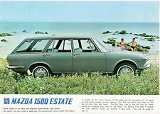 MAZDA 1500 ESTATE LEAFLET.