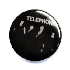 Badge TELEPHONE groupe rock français culte années 80 pop punk retro Ø25mm