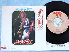 """ANDY GIBB BEE GEES Thicker Than Water / Words And Music DWQ6047 JAPAN 7"""" 185az42"""
