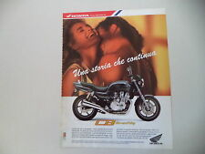 advertising Pubblicità 1992 MOTO HONDA CB 750 SEVENFIFTY