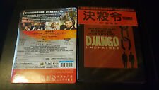 Django Unchained Blu-ray Taiwan Top Quarter Slip Embossed Steelbook New & Sealed