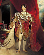 KING GEORGE IV OF THE UNITED KINGDOM Glossy 8x10 Photo Print Painting Poster