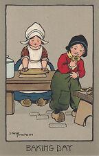 CHILDREN :Baking Day - ETHEL PARKINSON-FAULKNER