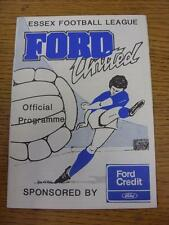 21/01/1989 Ford United v Maldon Town  (rusty staples)