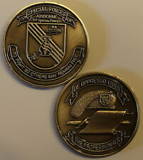 5th Special Forces Group Airborne 1st Special Forces Army Challenge Coin C_Sil