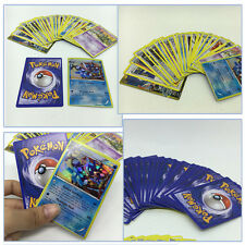 1x17 Pcs English Edition Kids Pokemon Holo Flash Trading Different Game Cards
