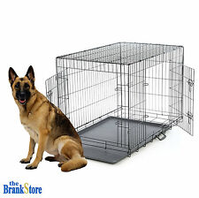 Large Dog Crate XL Kennel Extra Huge Folding Pet Wire Cage Big Breed Size
