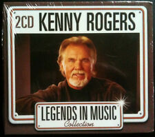LEGENDS IN MUSIC COLLECTION - KENNY ROGERS - COUNTRY - 2 CD NEUF -