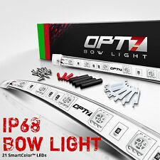 OPT7 Boat Bow Light 1-Mile LED - Red Green Marine Navigation