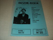 DEVOR-ROCK 20 (4/95) JAMES HALL KONG YXW WHITE ZOMBIE JF MUCK PNATSH KATAKLYSM