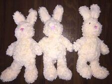 1Stück- TCM Tchibo Hase Cuddly Bunny Kuscheltier Stofftier Plüschtier Weiß Creme