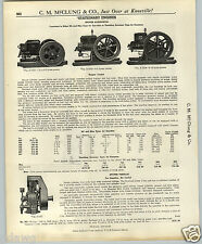 1937 PAPER AD Stover Horizontal Stationary Hit and Miss Gas Kerosene Engines