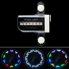 30 Changes 14 LED Motorcycle Cycling Bicycle Bike Wheel Signal Tire Spoke Light