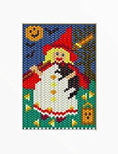 Little Witch Girl Beaded Banner Pattern
