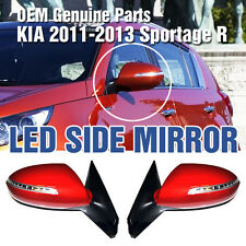 OEM Genuine Parts LED Side Mirror Assembly 2Pcs For KIA 2011-2013 Sportage R