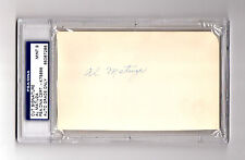 Five 1943 Chicago Bears PSA/DNA Signature Slabs from Autograph Signature Book