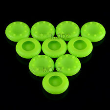 10X Controller Rubber Joystick Thumbstick Grip for PS4 PS3 XBOX ONE 360 Green