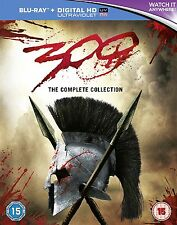 300 COMPLETE COLLECTION (300 / 300: RISE OF AN EMPIRE) BLU-RAY DISC REGION-FREE