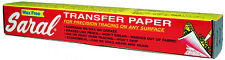 Saral Transfer (Tracing) Paper All-Purpose 12 in x 12 Foot Roll - White Color