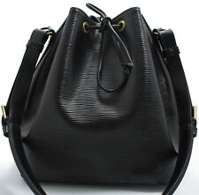 Louis Vuitton Rare EPI Petit NOE Bag Tasche ELEGANT Black Schwarz Shoulder Bag 2