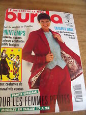MAGAZINE BURDA NOUVELLES COUPES COSTUMES DE CARNAVAL   1994
