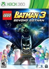 LEGO BATMAN 3 BEYOND GOTHAM XBOX 360 KIDS GAME EXCELLENT CONDITION