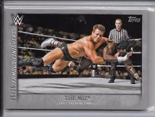 2015 Topps Undisputed The Miz 5/25 WWE FF-29 SSP Parallel Famous Finishers