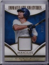 PAUL MOLITOR 2014 Panini Immaculate JERSEY RELIC CARD /99 Toronto Jays Swatches