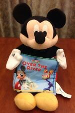"Disney Mickey Mouse Clubhouse 12"" Plush Hand Puppet Cloth Book Reading Toy"