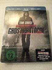 Mission Impossible - Ghost Protocol limited embossed Blu Ray Steelbook