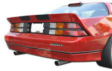 82-92 Chevrolet Camaro Duraflex Iroc-Z Look Rear Bumper 3pc Body Kit 106450