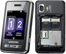 Samsung SGH d980 DUAL SIM (Senza SIM-lock) 5mp Touch mp3 player COME NUOVO TOP OVP