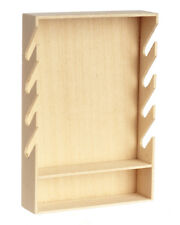 Basswood Gun Rack, Doll House Miniatures, 1.12th Scale Accessory