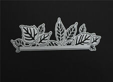 Craft Metal Leaves Border Die Cutter Cardmaking Floral Cutting Dies DC1434