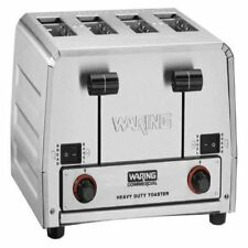 Waring WCT850 Commercial Switchable Bread Bagel Combination Toaster 208 Volts