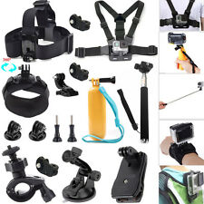 Head Wrist Strap Car Mount Kit For Ion Air Pro Gopro HERO Xiaomi Yi Sony Cam AZ1