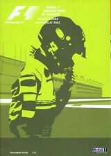 French Grand Prix Magny Cours 2003 official programme
