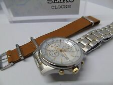 SEIKO 7T92-ONYO MENS 1/20th SECOND CHRONOGRAPH PILOT *EX-DISPLAY *RRP £239.99